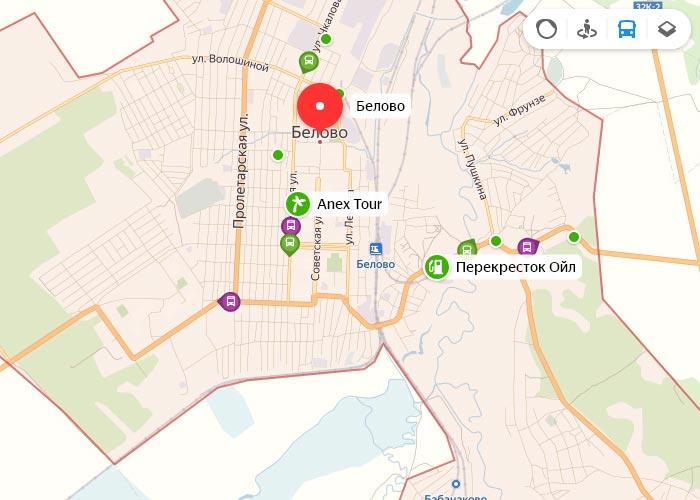 Яндекс транспорт Белово онлайн отслеживание маршрутов