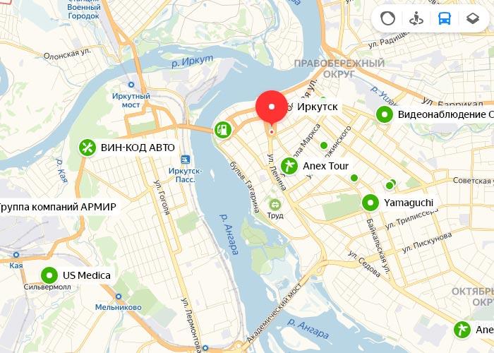 Яндекс транспорт Джержинск онлайн отслеживание маршрутов