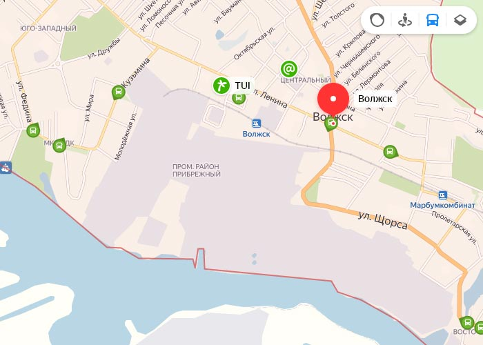 Яндекс транспорт Волжск онлайн отслеживание маршрутов